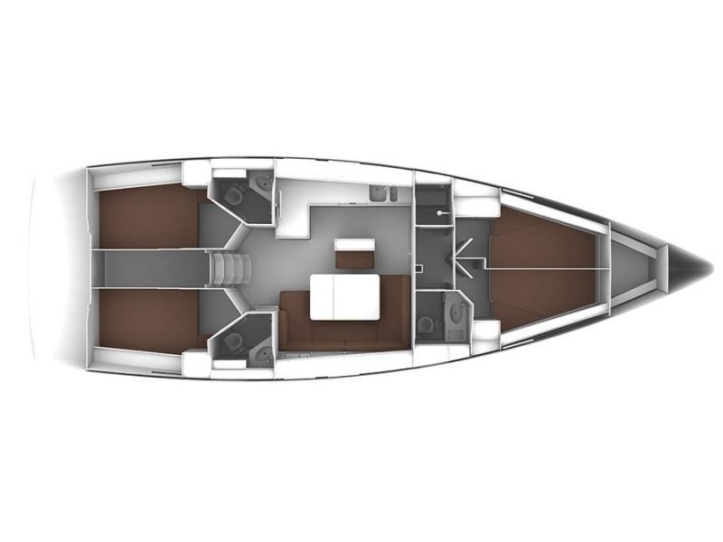 Bavaria Cruiser 46 (Angel) Plan image - 13