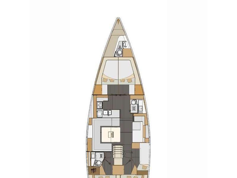Elan Impression 50 (Sea Duce) Plan image - 15