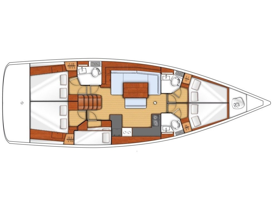 Oceanis 48 (Jackpot - Refit 2020) Plan image - 8