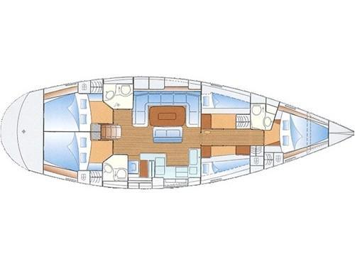 Bavaria 50 (Bingo - Refit 2020) Plan image - 5