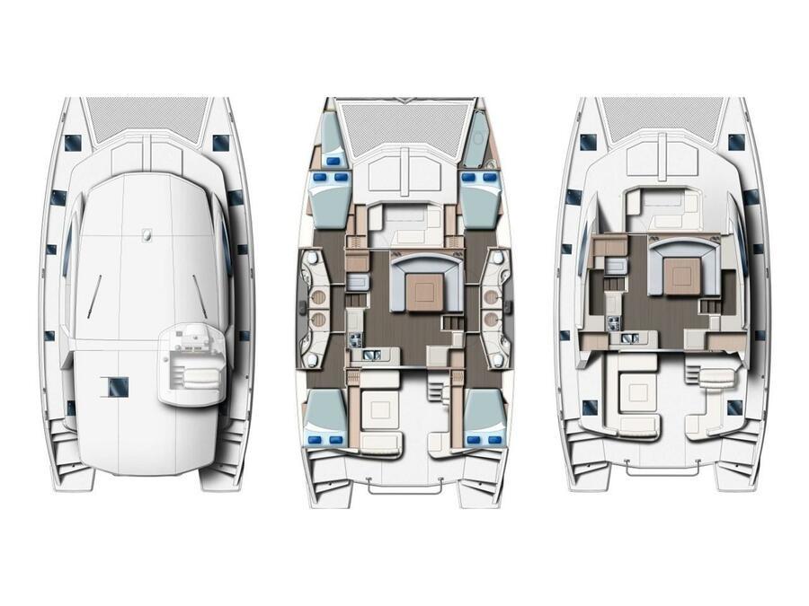 Leopard 48 (Sunday Kinga SK) Plan image - 3