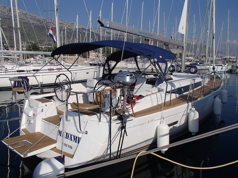 Sun Odyssey 439 owner version  (MADAME)  - 6
