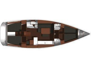 Dufour 445 GL (McLir) Plan image - 10