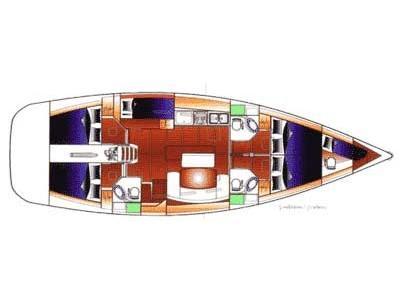 Cyclades 50.5 (Triton) Plan image - 4