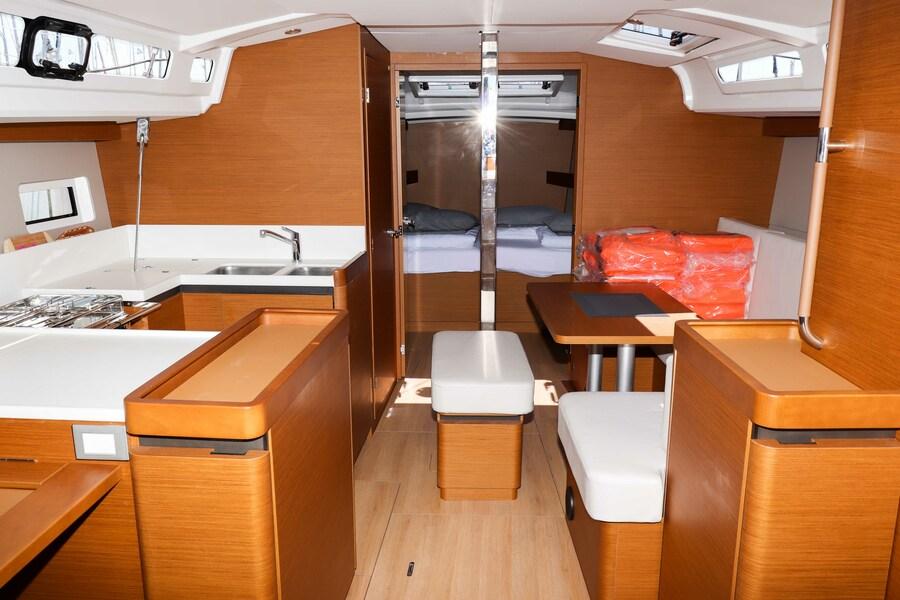 Sun Odyssey 440 - 3 cabin, 2 heads (Ella Victoria)  - 1