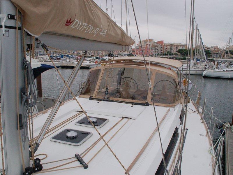 Dufour 445 GL 6 pax (Ambiente V) deck image - 10