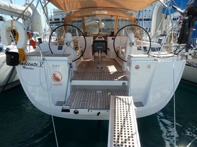 Dufour 445 GL 6 pax (Ambiente V) transom image - 9