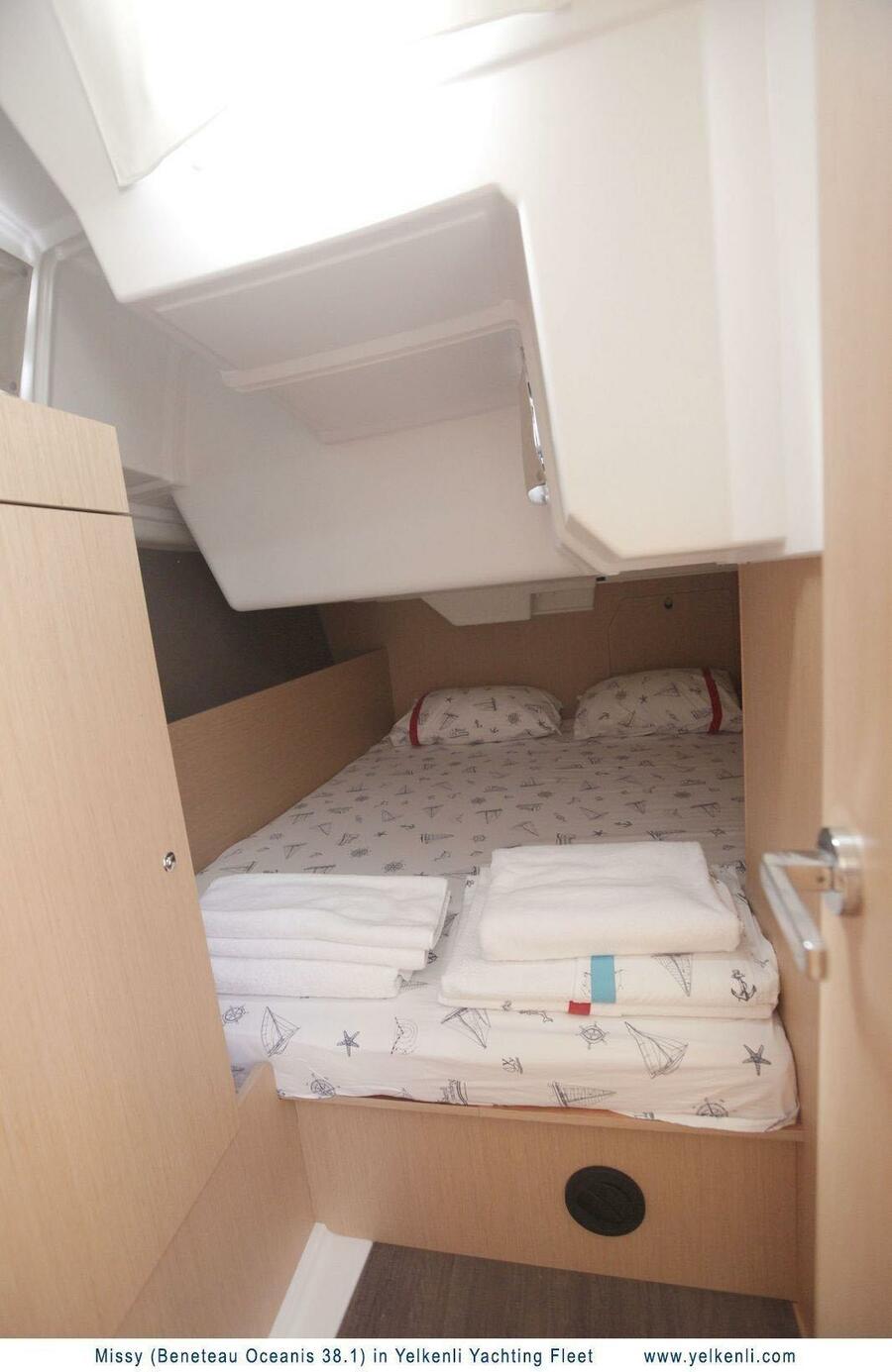 Oceanis 38.1 (Missy) Starboard Aft Cabin - 19