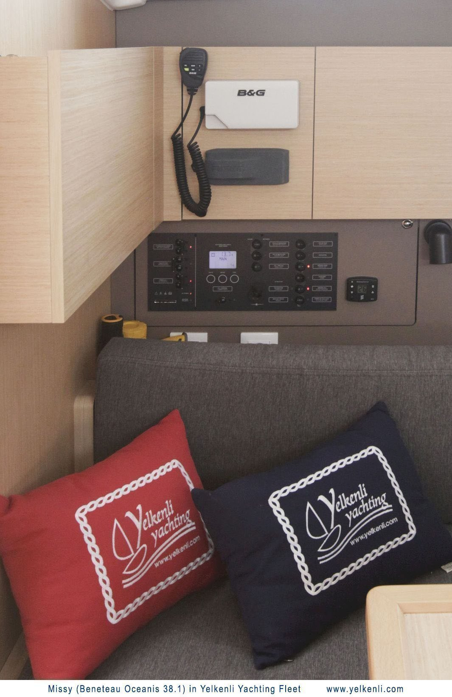 Oceanis 38.1 (Missy) VHF Controls - 12