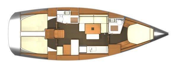 Dufour 405 Grand Large (Bella FB ) Interior image - 14