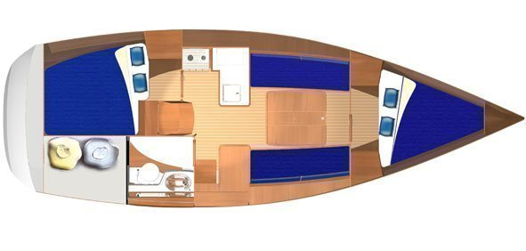 Dufour 325 Grand Large (Alma R ) Interior image - 14