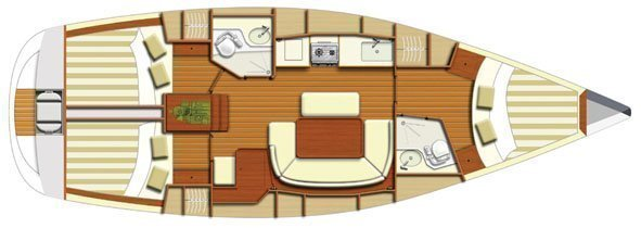 Dufour 385 Grand Large (Marta ) Interior image - 14