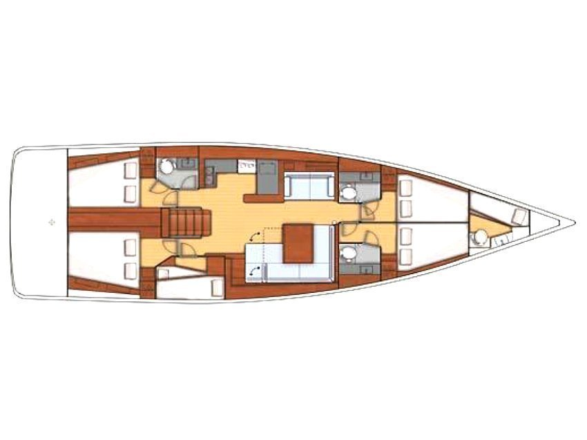 Oceanis 55 (Noemi) Plan image - 2