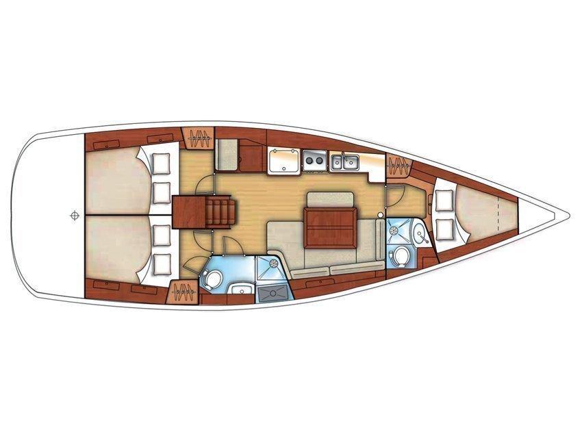 Oceanis 40 (Francy) Plan image - 2