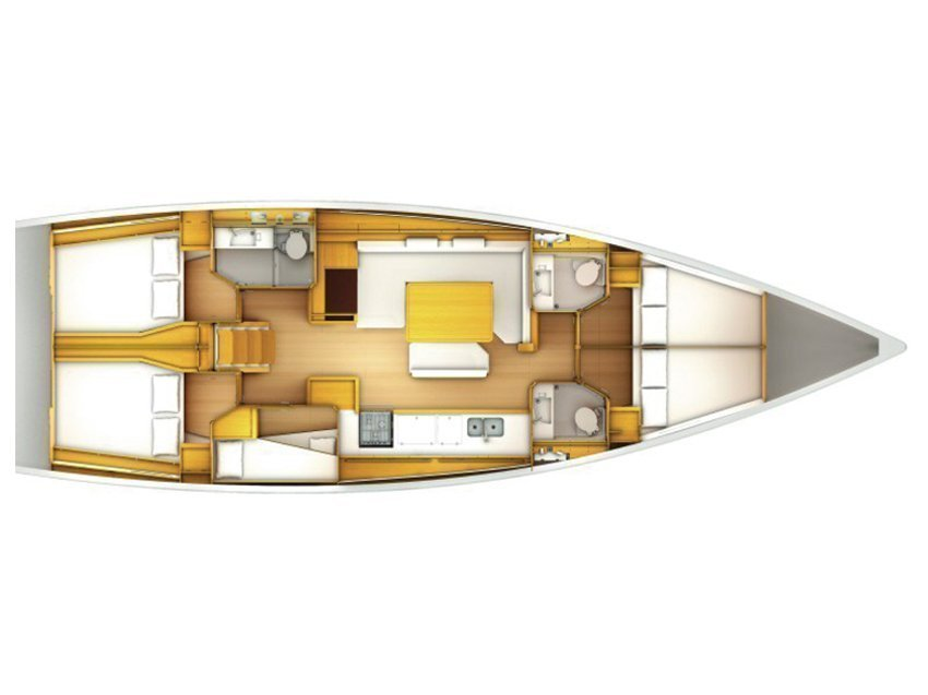 Sun Odyssey 509 (Caterina) Plan image - 2