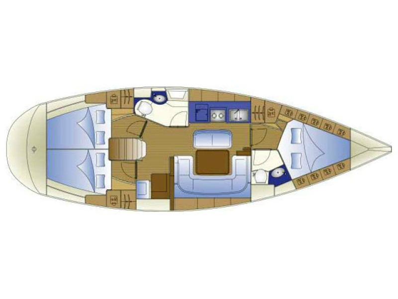 Bavaria 40 Cruiser (B40-08-A) Plan image - 1