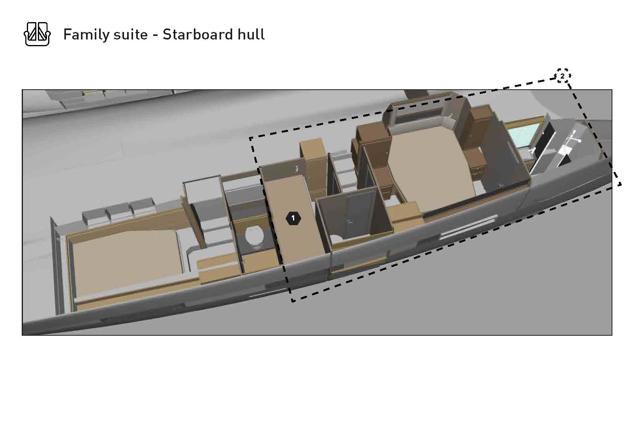Dufour Catamaran 48 (Argo)  - 41