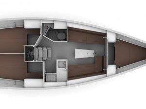 Bavaria 34 Cruiser (Wild love) Plan image - 1