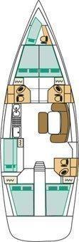 Cyclades 50.5 (Galeodea) Plan image - 2