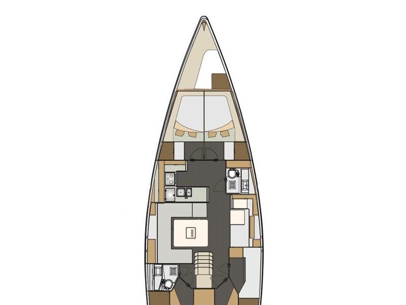 Elan Impression 50 (Sea Duce) Plan image - 2