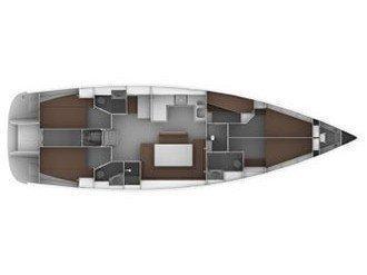 Bavaria Cruiser 50 (Juniper) Plan image - 1
