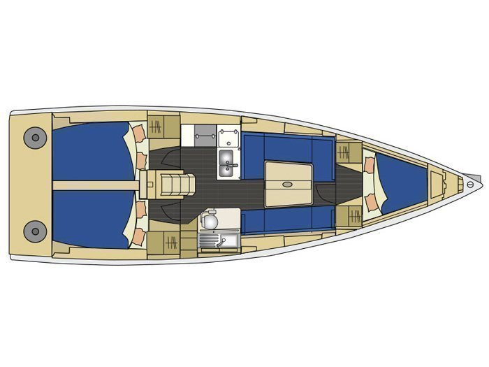 Elan 350 (Whiskey) Plan image - 3