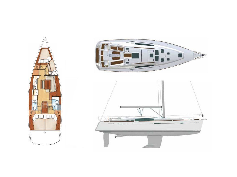 Oceanis 46 (Victoria) Plan image - 11
