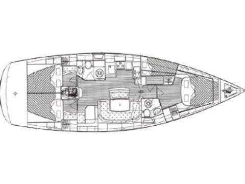 Bavaria 46 Cr (Aruna (TFS)) Plan image - 1