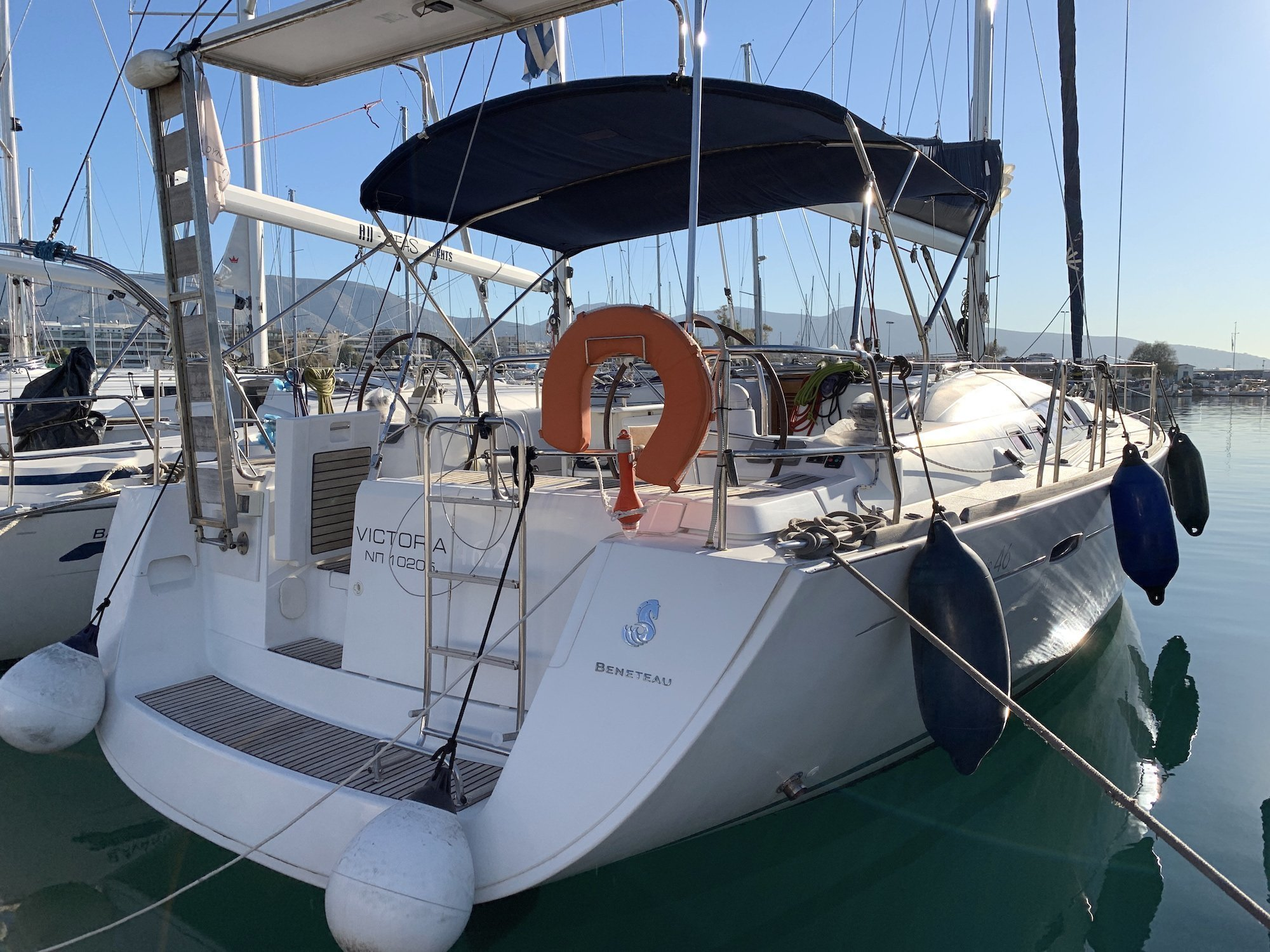 Oceanis 46 (Victoria) Main image - 0