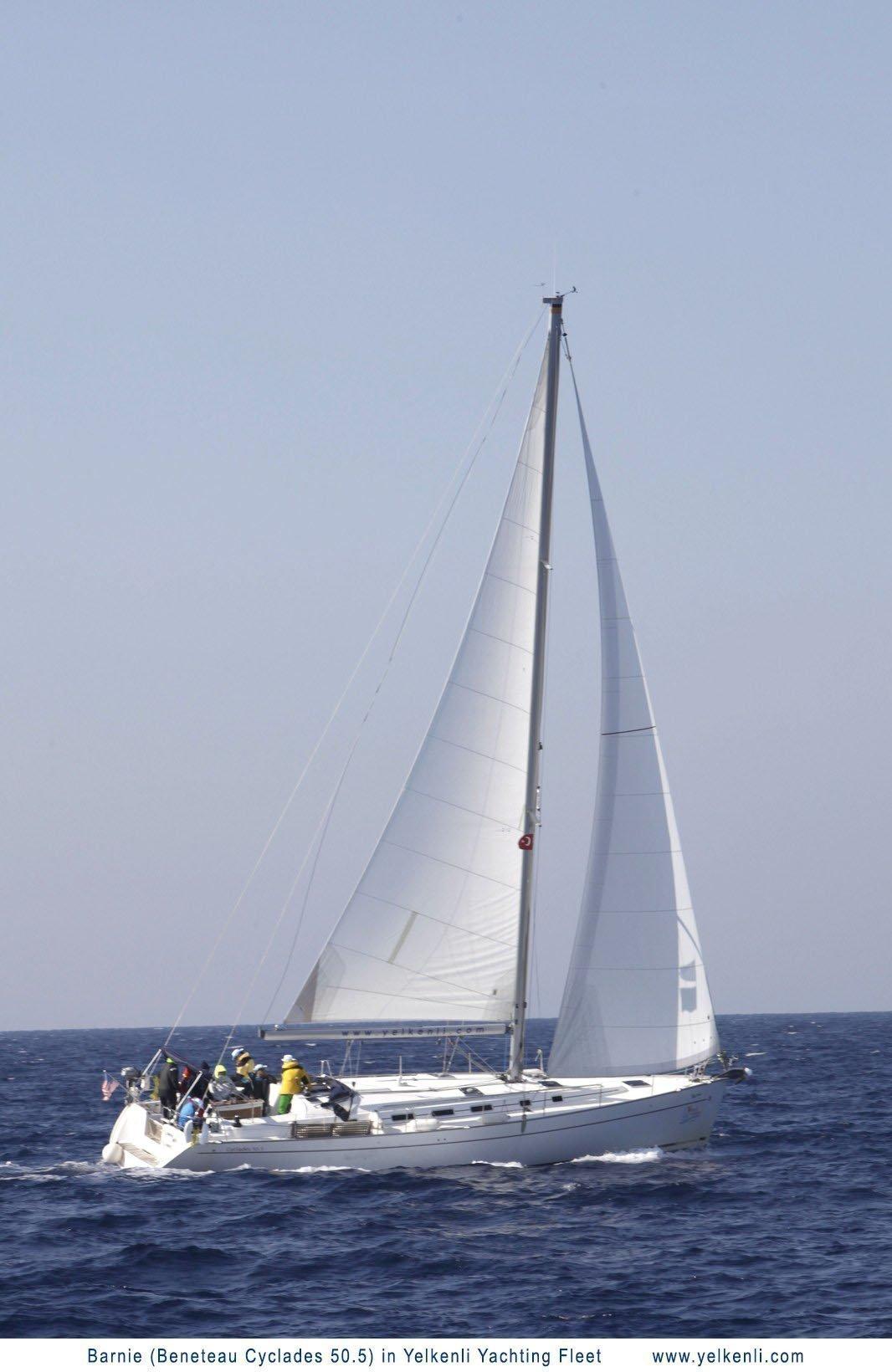 Cyclades 50.5 (Barnie) Sailing - 25