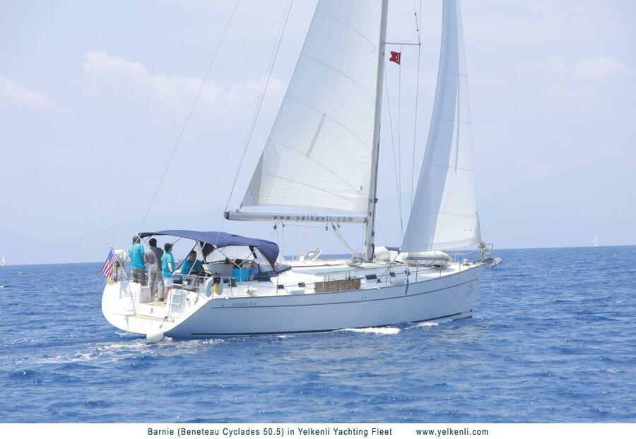 Cyclades 50.5 (Barnie) Sailing - 9