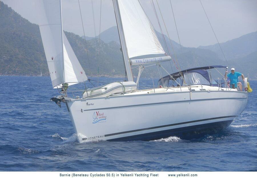 Cyclades 50.5 (Barnie) Sailing - 20