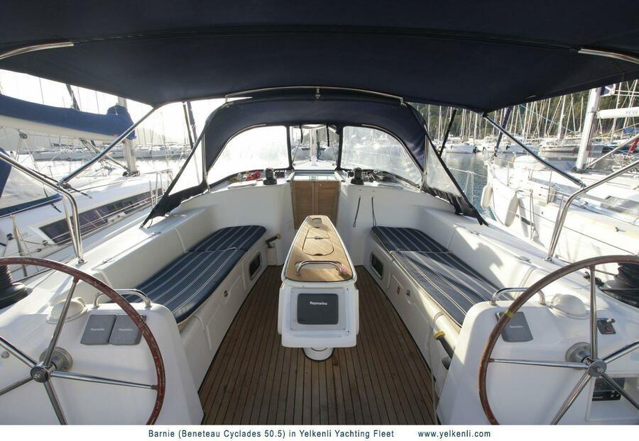 Cyclades 50.5 (Barnie) Cockpit - 24