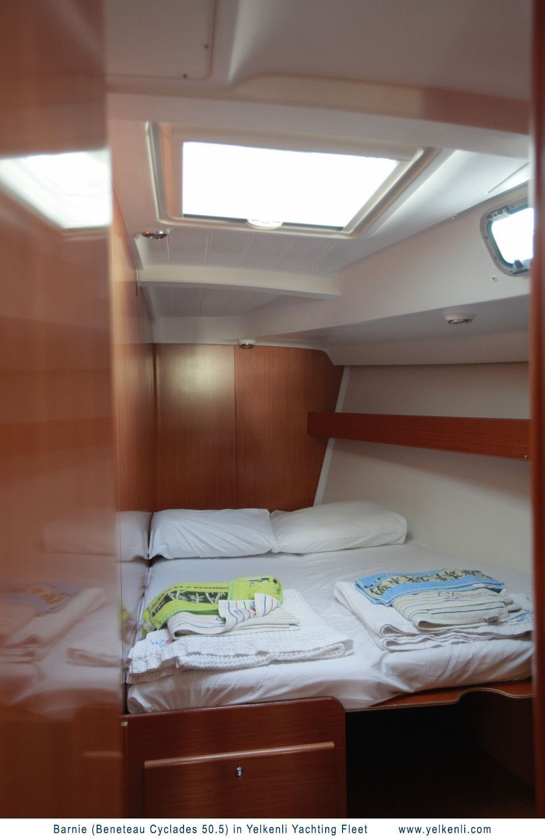 Cyclades 50.5 (Barnie) Front Starboard Cabin - 12