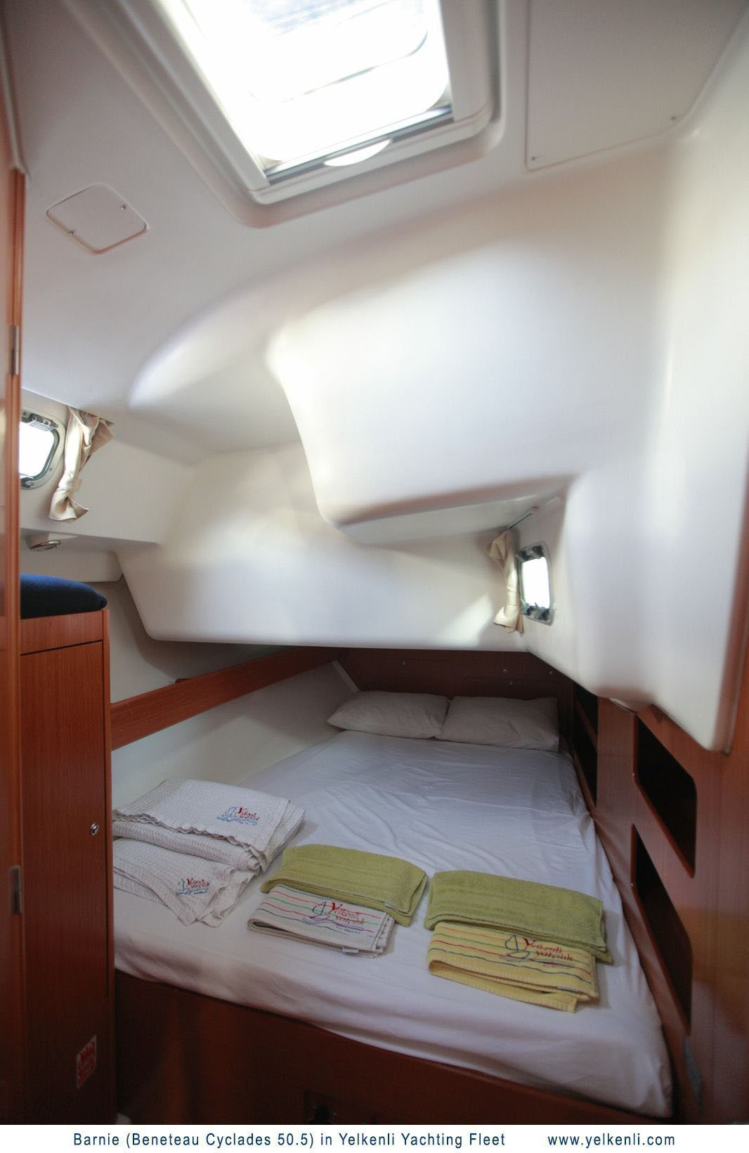 Cyclades 50.5 (Barnie) Aft Starboard Cabin - 4