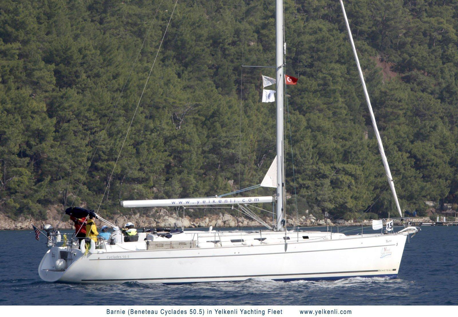 Cyclades 50.5 (Barnie) Sailing - 2