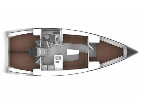Bavaria Cruiser 37 (Eneja) Plan image - 8