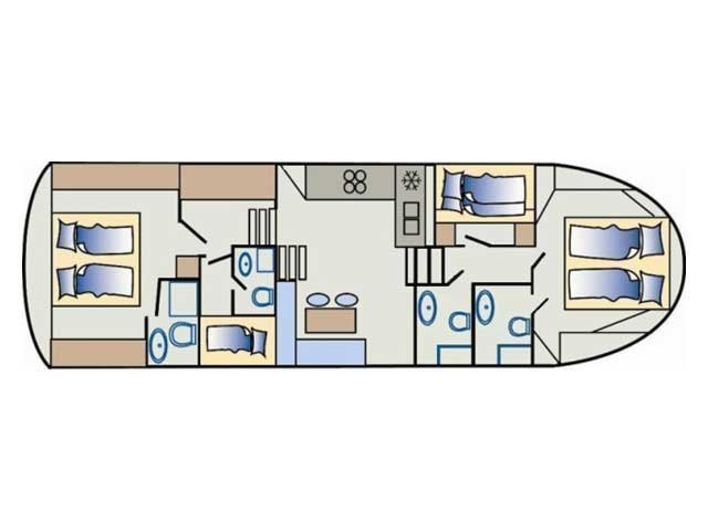 Staryacht 1670 (Holiday ) Plan image - 16