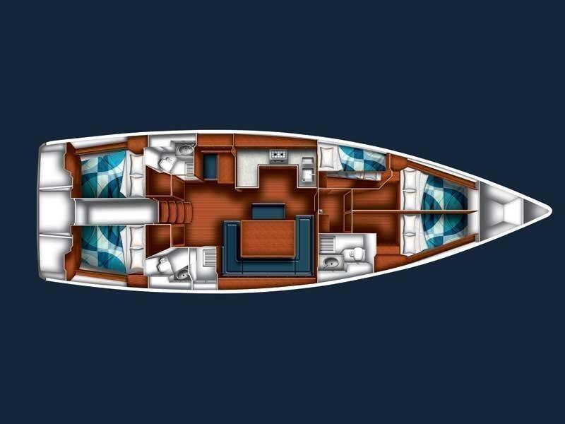 BAVARIA C 50 BT (SIRENA) Plan image - 8