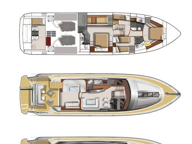 Galeon 640 Fly (Le Chiffre) Plan image - 32