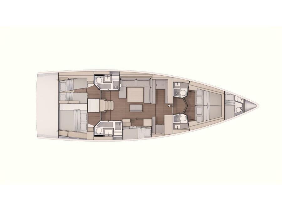 Dufour 530 (Jackie) Plan image - 2