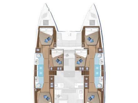Lagoon 50 (For Sail Too) Plan image - 2