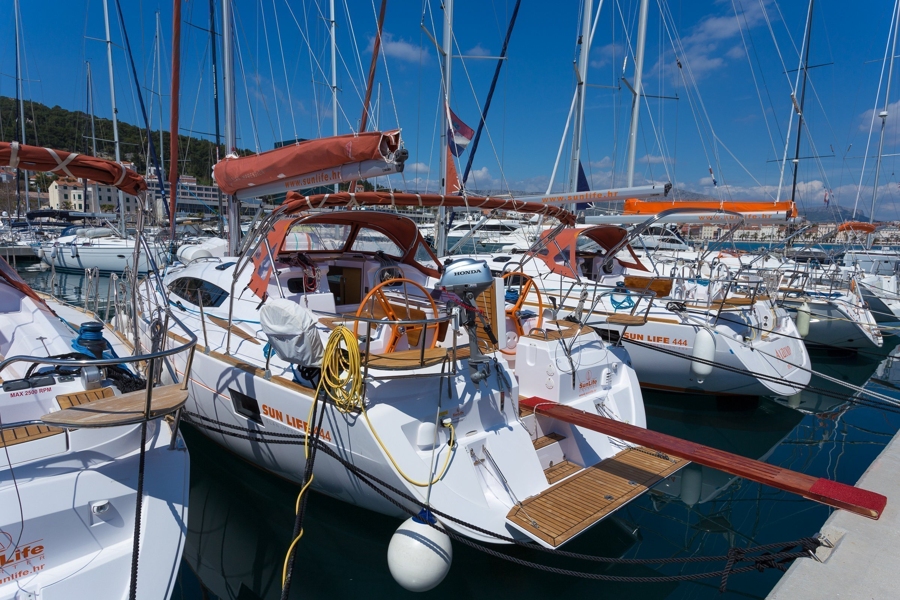 Elan 444 Impression (TIGER) Elan 444 Impression Charter Croatia - 4