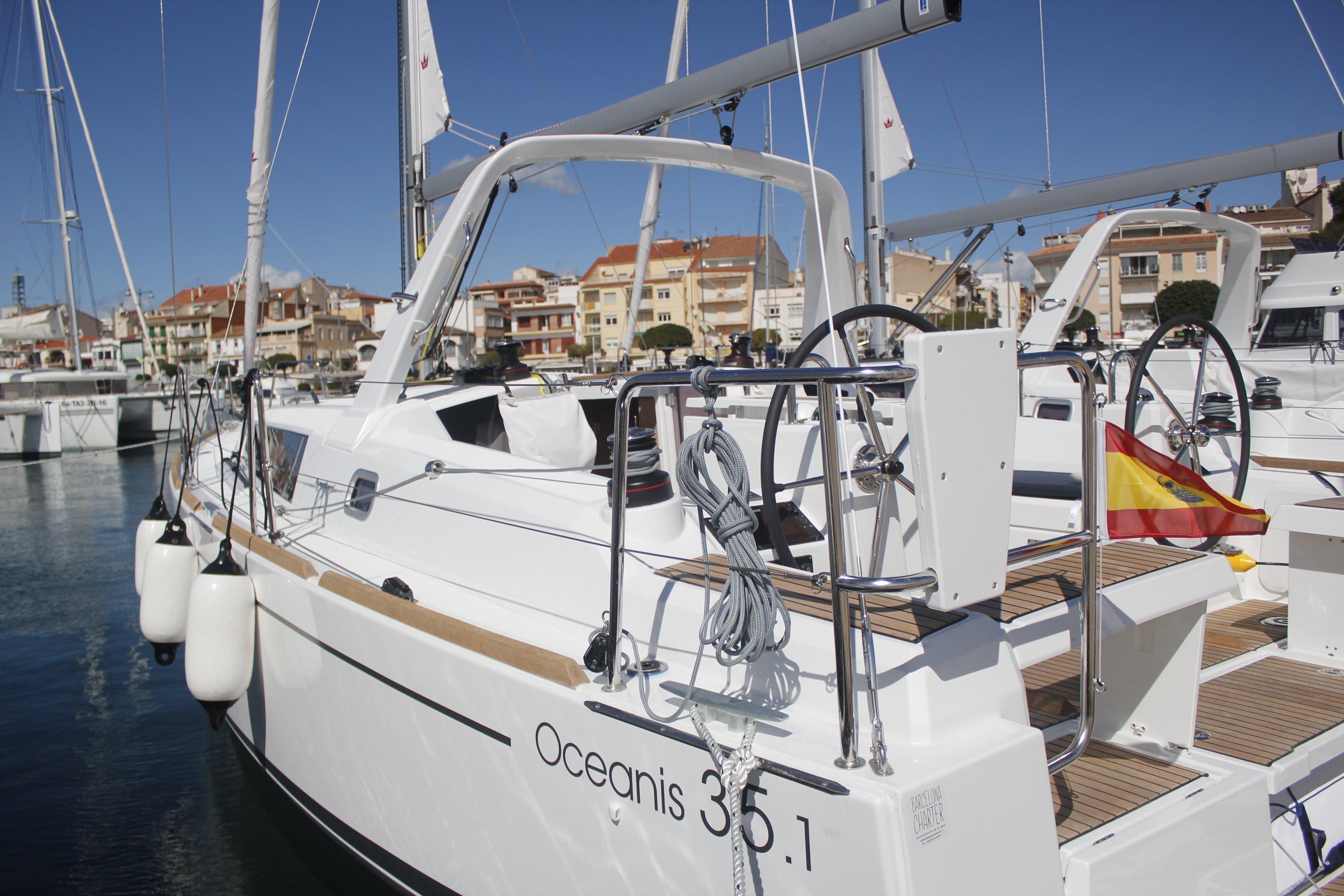 Oceanis 35.1 (LLAMPUGA)  - 2