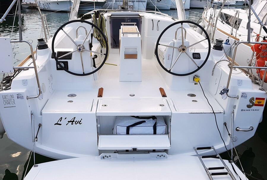 Oceanis 35 Cruiser (L'avi)  - 3