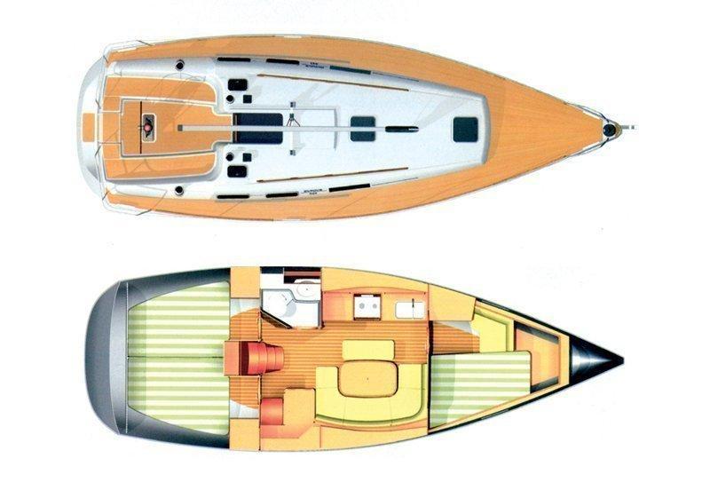 Dufour 365 GL (Tatomir) Plan image - 8