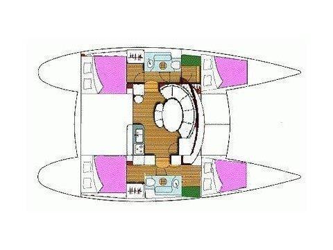 Lagoon 380 S2 (Lagoon 380S2) Plan image - 1