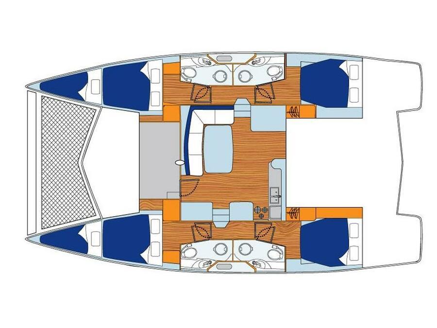 Leopard 44 (La Luna (Majorca)) Plan image - 1
