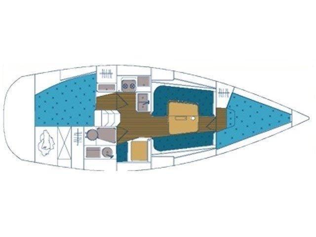 Elan 333 (PASSAT) Plan image - 2