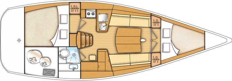 Beneteau First 35 (Kalypso) Plan image - 9